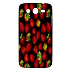 Berry Strawberry Many Samsung Galaxy Mega 5.8 I9152 Hardshell Case