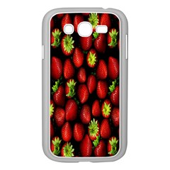 Berry Strawberry Many Samsung Galaxy Grand Duos I9082 Case (white)