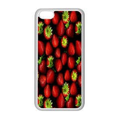 Berry Strawberry Many Apple iPhone 5C Seamless Case (White)