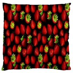 Berry Strawberry Many Standard Flano Cushion Case (two Sides)