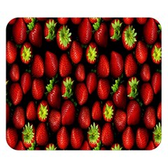 Berry Strawberry Many Double Sided Flano Blanket (Small)