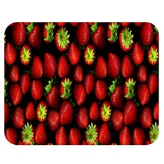 Berry Strawberry Many Double Sided Flano Blanket (Medium)
