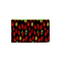 Berry Strawberry Many Cosmetic Bag (XS)