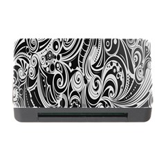 Black White Pattern Shape Patterns Memory Card Reader with CF