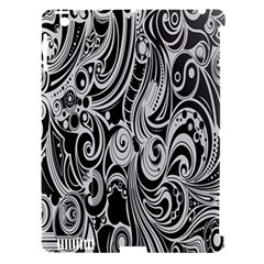 Black White Pattern Shape Patterns Apple iPad 3/4 Hardshell Case (Compatible with Smart Cover)