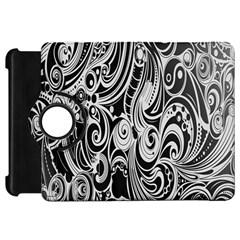 Black White Pattern Shape Patterns Kindle Fire HD 7