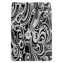 Black White Pattern Shape Patterns Flap Covers (s)