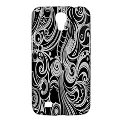 Black White Pattern Shape Patterns Samsung Galaxy Mega 6 3  I9200 Hardshell Case