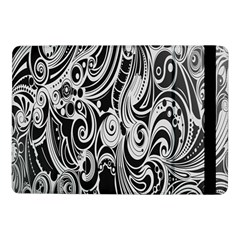 Black White Pattern Shape Patterns Samsung Galaxy Tab Pro 10.1  Flip Case