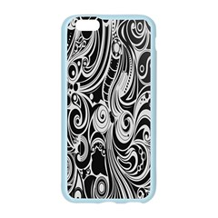 Black White Pattern Shape Patterns Apple Seamless iPhone 6/6S Case (Color)