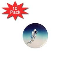 astronaut 1  Mini Magnet (10 pack)