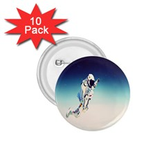 Astronaut 1 75  Buttons (10 Pack)