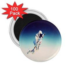 Astronaut 2 25  Magnets (100 Pack)
