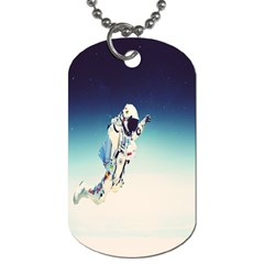 astronaut Dog Tag (Two Sides)