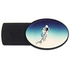 astronaut USB Flash Drive Oval (1 GB)