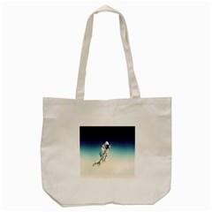 astronaut Tote Bag (Cream)