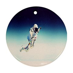 astronaut Round Ornament (Two Sides)