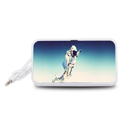 astronaut Portable Speaker (White)