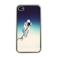 astronaut Apple iPhone 4 Case (Clear)