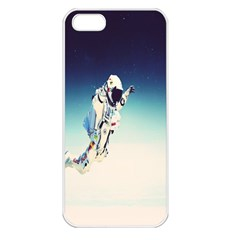 astronaut Apple iPhone 5 Seamless Case (White)