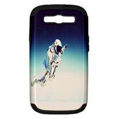 astronaut Samsung Galaxy S III Hardshell Case (PC+Silicone)