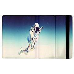 astronaut Apple iPad 3/4 Flip Case