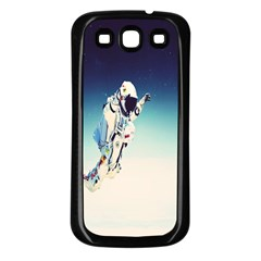 astronaut Samsung Galaxy S3 Back Case (Black)