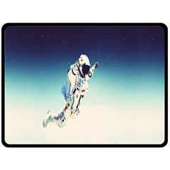 astronaut Double Sided Fleece Blanket (Large)