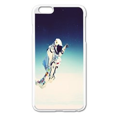 astronaut Apple iPhone 6 Plus/6S Plus Enamel White Case