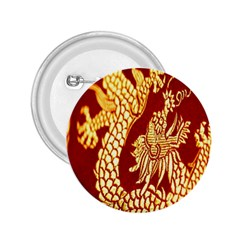 Fabric Pattern Dragon Embroidery Texture 2.25  Buttons