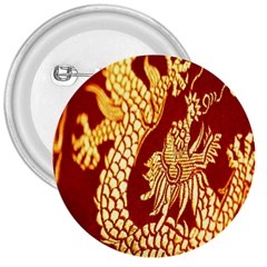 Fabric Pattern Dragon Embroidery Texture 3  Buttons