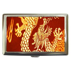 Fabric Pattern Dragon Embroidery Texture Cigarette Money Cases