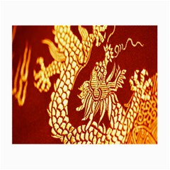 Fabric Pattern Dragon Embroidery Texture Small Glasses Cloth