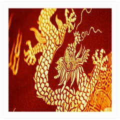 Fabric Pattern Dragon Embroidery Texture Medium Glasses Cloth (2-Side)