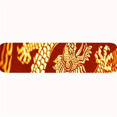 Fabric Pattern Dragon Embroidery Texture Large Bar Mats