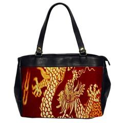 Fabric Pattern Dragon Embroidery Texture Office Handbags