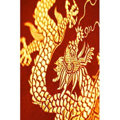 Fabric Pattern Dragon Embroidery Texture 5.5  x 8.5  Notebooks