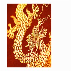 Fabric Pattern Dragon Embroidery Texture Small Garden Flag (Two Sides)