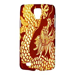Fabric Pattern Dragon Embroidery Texture Galaxy S4 Active