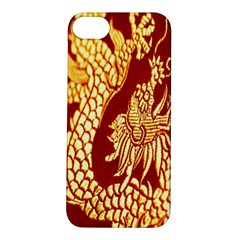 Fabric Pattern Dragon Embroidery Texture Apple iPhone 5S/ SE Hardshell Case