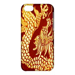 Fabric Pattern Dragon Embroidery Texture Apple iPhone 5C Hardshell Case