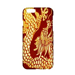 Fabric Pattern Dragon Embroidery Texture Apple Iphone 6/6s Hardshell Case