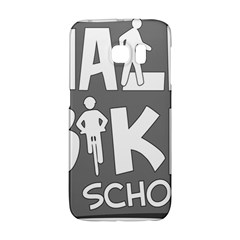 Bicycle Walk Bike School Sign Grey Galaxy S6 Edge
