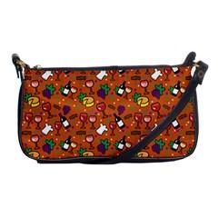 Wine Cheede Fruit Purple Yellow Orange Shoulder Clutch Bags