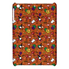 Wine Cheede Fruit Purple Yellow Orange Apple iPad Mini Hardshell Case