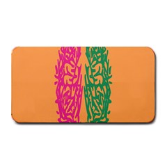 Brian Pink Green Orange Smart Medium Bar Mats