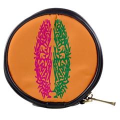 Brian Pink Green Orange Smart Mini Makeup Bags
