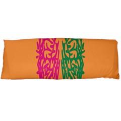 Brian Pink Green Orange Smart Body Pillow Case (Dakimakura)