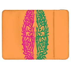 Brian Pink Green Orange Smart Samsung Galaxy Tab 7  P1000 Flip Case