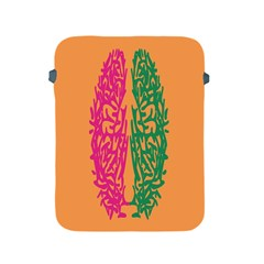 Brian Pink Green Orange Smart Apple iPad 2/3/4 Protective Soft Cases